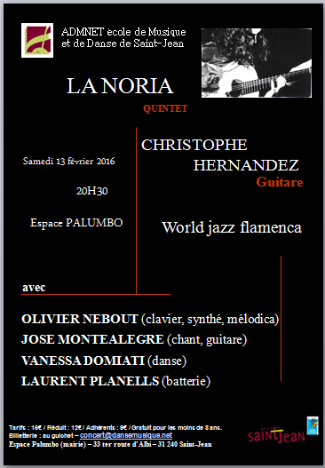 LA NORIA - flamenco jazz